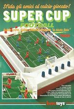 X2329 BEROTOYS - Super Cup Football - Pubblicità 1986 - Advertising