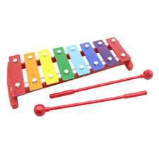 Kids 8 Notes Musical Xylophone Piano Wooden Glockenspiel Instrument Children Toy