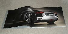 Audi R8 Full Size Hardback UK Market Brochure Book 2007 - 4.2 V8 FSI