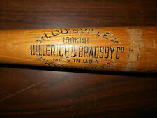 VINTAGE WOOD WOODEN BASEBALL BAT  FRED LYNN