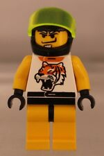 LEGO: MINIFIG: RACERS: Chip Tiger Pattern