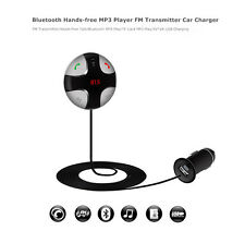 New Bluetooth USB LCD Car Kit Charger MP3 Player FM Transmitter For iPhone iPod