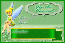 Tinkerbell Party Invitations with matching envelopes, birthday, princess, 24pack