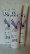 Avon Foot Works Beautiful Lavender Overnight Cream New & Sealed (Lot of 3)