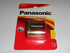1 x Panasonic PHOTO CR-P2 CRP2 6V 1600 mAh Foto-Batterie Lithium CR P2