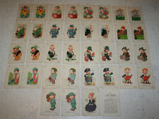 Vintage Old Maid Card Game Professions/Sons Ice Man Coalman Grocer Milkman