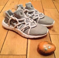 "Nike Huarache ""Breathe"" 2015 Sample Triple Platinum Waffles  UK8 US9 EU42.5 CM27"