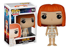 IN STOCK  FUNKO POP MOVIES THE FIFTH ELEMENT LEELOO in STRAPS #193