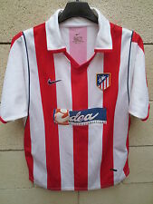 VINTAGE Maillot ATLETICO MADRID camiseta NIKE ancien shirt football Xl enfant XS
