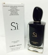 Si Intense by GIORGIO ARMANI 3.4 oz 100 ml EDP SPRAY WOMEN NEW WITH CAP TSTER