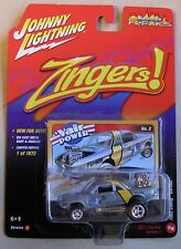 Johnny Lightning Zingers 1962 CHEVY CORVAIR 1 of 1672 release 1 #2 yellow stripe