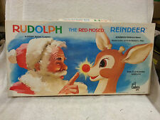 VINTAGE 1977 CADACO RUDOLPH THE RED-NOSED REINDEER BOARD GAME Complete NICE
