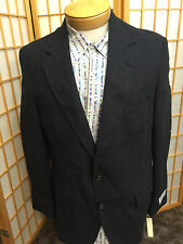 J.Weston LTD Wool Gray Striped Sport Coat Jacket Mens Size 41R