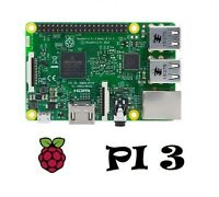 Raspberry Pi 3 Model B - UK Version - 1GB RAM Quad Core 64Bit Bluetooth WiFi