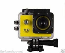 DuraCam Sj4000 SPORT ACTION CAMERA HD 1080p Waterproof -16 GB Card free -(GOLD)