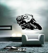 Cal Crutchlow Wall Art 01motorcycle RACER Decalcomania Grafica Adesiva Unica