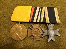 WWI IMPERIAL GERMAN / PRUSSIAN 3 PLACE MEDAL BAR