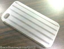 New White Designer Ultra Thin Hard Back Case,Cover,for Apple Iphone 4 4s 4g