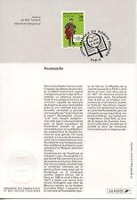 FDC / PREMIER JOUR / HEROS FRANCAIS DU ROMAN POLICIER / ROULETABILLE PARIS 1996