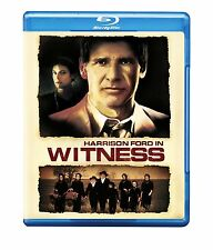 WITNESS (Harrison Ford) english cover  -  Blu Ray - Sealed Region free for UK