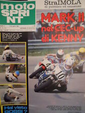 Motosprint 16 1980 Test SWM 250 Cross - Kenny Roberts - Ceccotto - Lucky [SC.31]