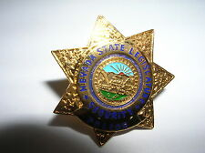 "NEVADA 1"" Mini Star Badge PIN Tie Tac State Legislature Security Police"
