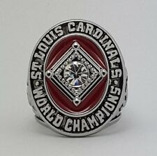 1964 St Louis Cardinals world series championship ring size 11 Back Solid