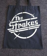 The Strokes Tote Bag Shopping Canvas Handbag (T-Shirt Vest Tank Raglan)