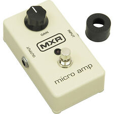 Jim Dunlop MXR M133 Micro Amp Guitar Effects Pedal