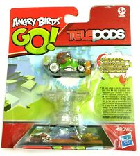 Angry Birds GO! Telepods Kart Green Pig with HELMET {Green Cart} [Toy]