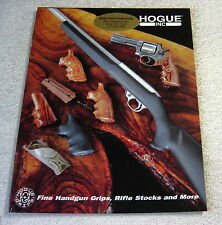 HOGUE GRIPS & STOCKS 2001 gun catalog