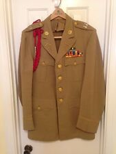 WW2 Army Captain Officers Dress Coat