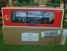 LIONEL TRAINS NO. 19425 ARTRAIN 1996 FLATCAR WITH TRAILER - VERY NICE