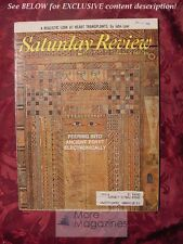 Saturday Review February 3 1968 Ancient Egypt I. A. RICHARDS WILLIAM KOREY
