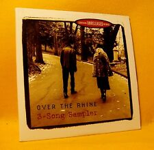 PROMO Cardsleeve Single CD Over The Rhine 3-Song Sampler 3TR 2001 Pop Rock RARE