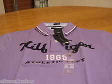 Men's Tommy Hilfiger Polo shirt NEW XL slim fit 7825580 logo paisley purple knit