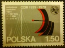 POLAND STAMPS MNH Fi2499 Sc2355 Mi2647 -Internat. Commit.of the Radio,1979,clean