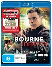 The Bourne Identity (Blu-ray, 2010) NEW AND SEALED