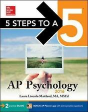 5 Steps to a 5 AP Psychology 2016 5 Steps to a 5 on the Advanced Placement Exam