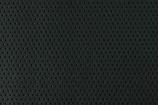 Black Perforated Textured Auto Home Faux Leather Vinyl Pleather Leatherette