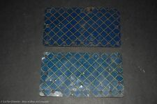 Vintage Meccano - No.191 - Plaque Fléxible  X2