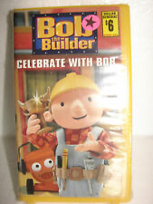 Bob The Builder Celebrate with Bob (2002, Video, VHS Format) New