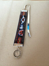 Hand-crafted Back to the Future Inspired Ribbon Bookmark