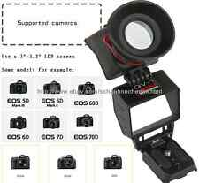 KAMERAR AUTHENTIC QV-1 LCD VIEWFINDER VIEW FINDER for CANON 5D2 D800 D600 7D 60D