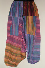 Indian Dip Dye Cotton Hippy Yoga Ali Baba Style Harem Trousers (DD16)