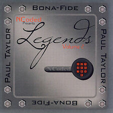Paul Taylor/Bona Fide Legends Vol. 2 (CD, Music, Smooth Jazz, 2007) New, Sealed