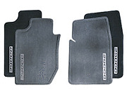 Dodge Ram carpet floor mats 82207015ab OEM Mopar front Dark Slate Grey 02 - 05