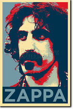 FRANK ZAPPA ART PHOTO PRINT POSTER GIFT (BARACK OBAMA HOPE PARODY)
