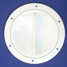 Inspection Hatch Easy Open 127mm -  White, Boat/ Caravan/ Sailing /Motorhome