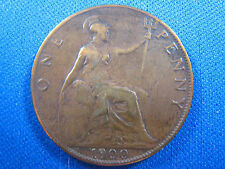 1900 GREAT BRITAIN - ONE PENNY               (msw9)